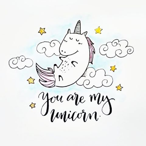 Because unicorn gives out rainbow farts calligraphy Calligraphy as a career
