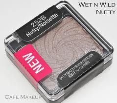 Wet n Wild Nutty, a great dupe for Mac Satin Taupe,
