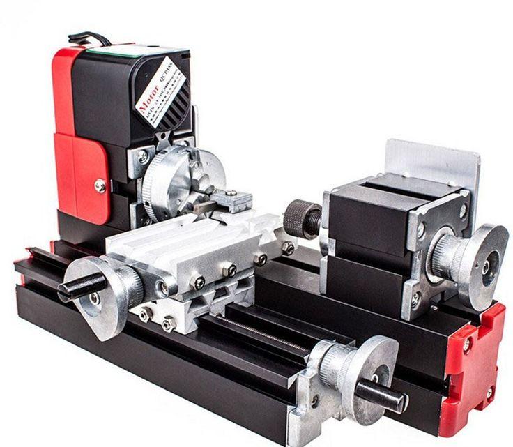 DIY Machine Working Lathe Metal Woodworking Machine 20000rev/min 45*135mm Eleoption 6in1 Miniature Metal Multifunction