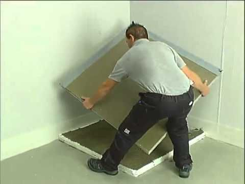 How to instal a Valsir Floor Level Shower System  Come installare un sistema doccia a filo pavimento