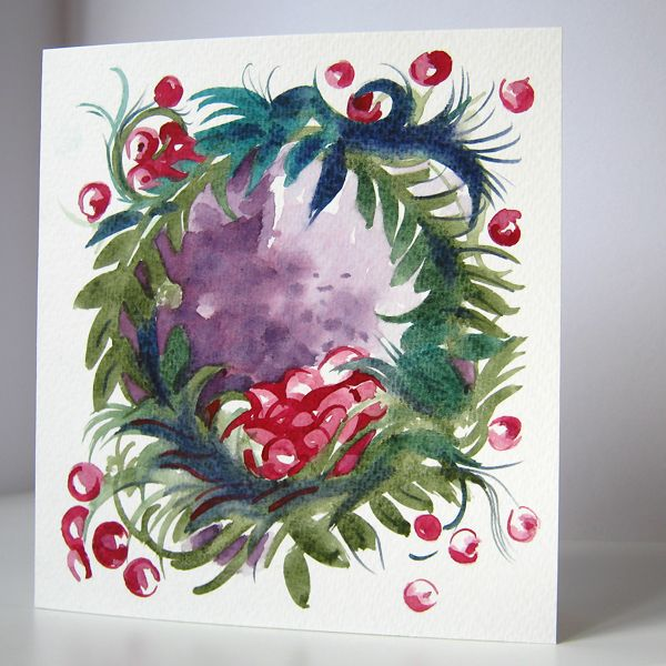 Best images about handmade watercolor cards on
