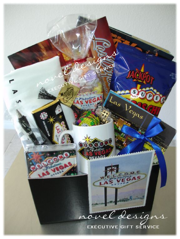 Themed Gift Box Ideas : Best images about las vegas gift baskets on