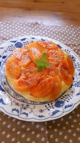 HM】フライパンで柿の【タルトタタン】 by *チフォン* [クックパッド ...