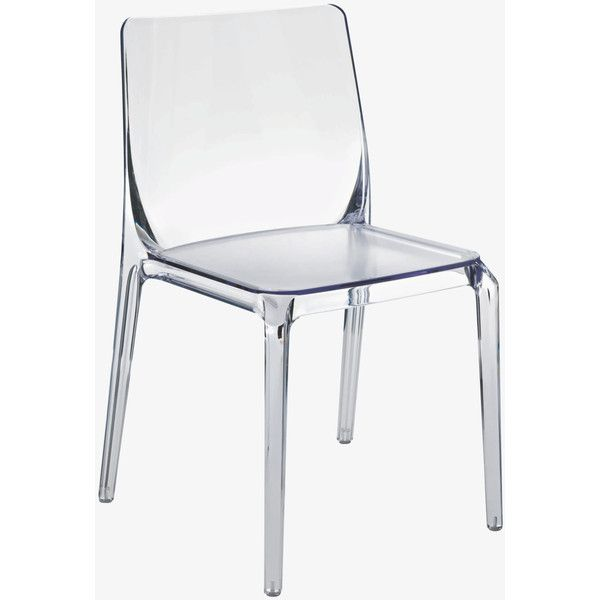blitz clear dining chair polyvore for my home pinterest