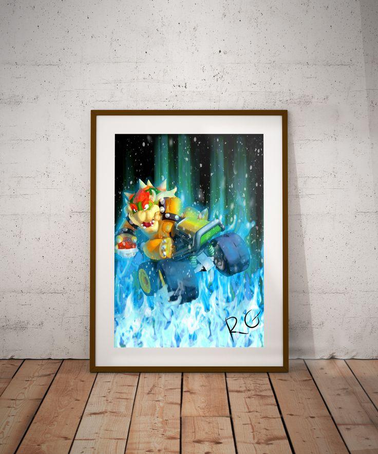 Nintendo Wall Art best 25+ king koopa ideas on pinterest | hama beads mario