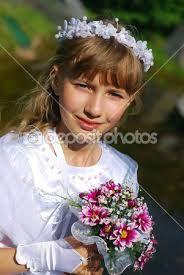 Resultado de imagem para primeira comunhao vestido