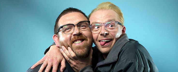 Саймон Пегг и Ник Фрост снимут новую хоррор-комедию!