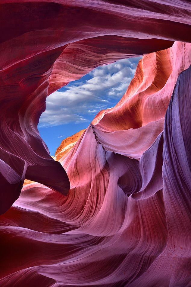 ~~Window of Heaven | Lower Antelope Canyon, Page, Arizona by Mei Xu | Earth Shots~~