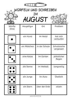 127 besten schreibanl sse bilder auf pinterest deutsch lernen deutsch unterricht und sprachen. Black Bedroom Furniture Sets. Home Design Ideas