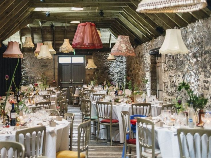 The Byre At Inchyra Perthshire Event Wedding Barn Weddings Scotland Dinner