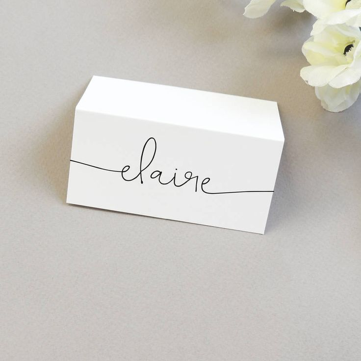 Best 25+ Name place cards ideas on Pinterest