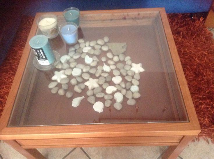 decorazione cassetto tavolo