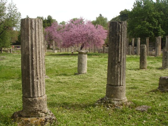 The ruins in Ancient Olympia!