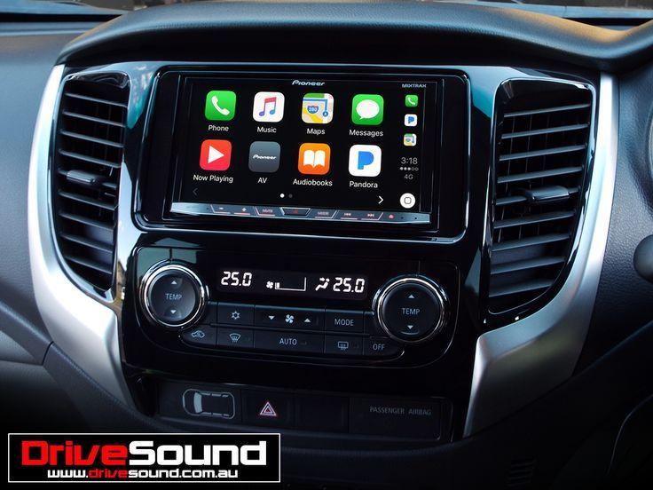 Awesome Mitsubishi 2017 - Mitsubishi Triton with Apple CarPlay installed by DriveSound.... Check more at http://24car.ga/my-desires/mitsubishi-2017-mitsubishi-triton-with-apple-carplay-installed-by-drivesound/