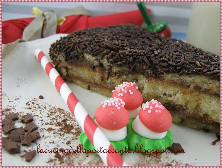Pan di Spagna con cacao e marmellata