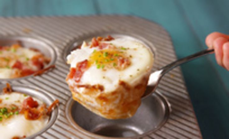 Hash Brown Cups: Break out the muffin tin for a full on-the-go breakfast.