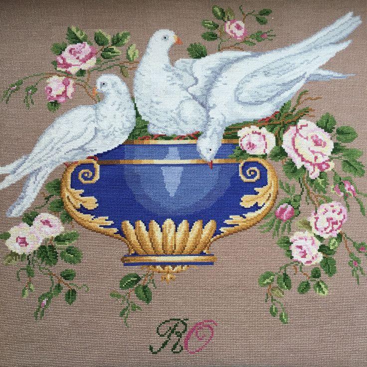 Raffaella Serena. Above: Doves.Nowotny collection . Моя работа