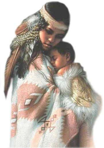 This is beautiful. I always wished I was Native American I thought they were always gorgeous women. Now I have a beautiful little girl who's part Native American :)