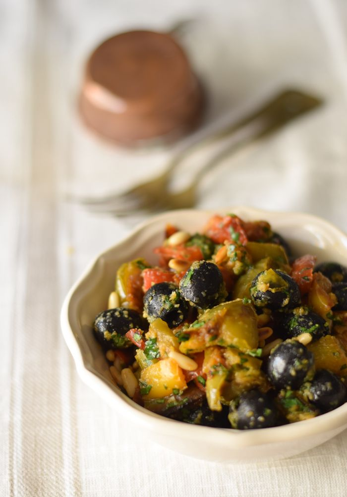 Peperoni arrosto alla siciliana