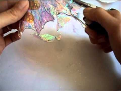 tutorial-how to angelina fiber & film wings