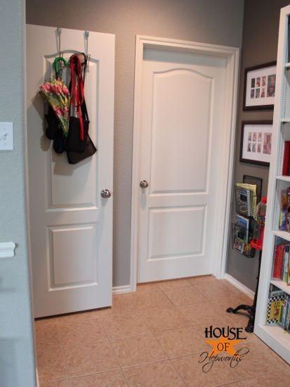 White Doors White Trim And Gray Walls On Pinterest