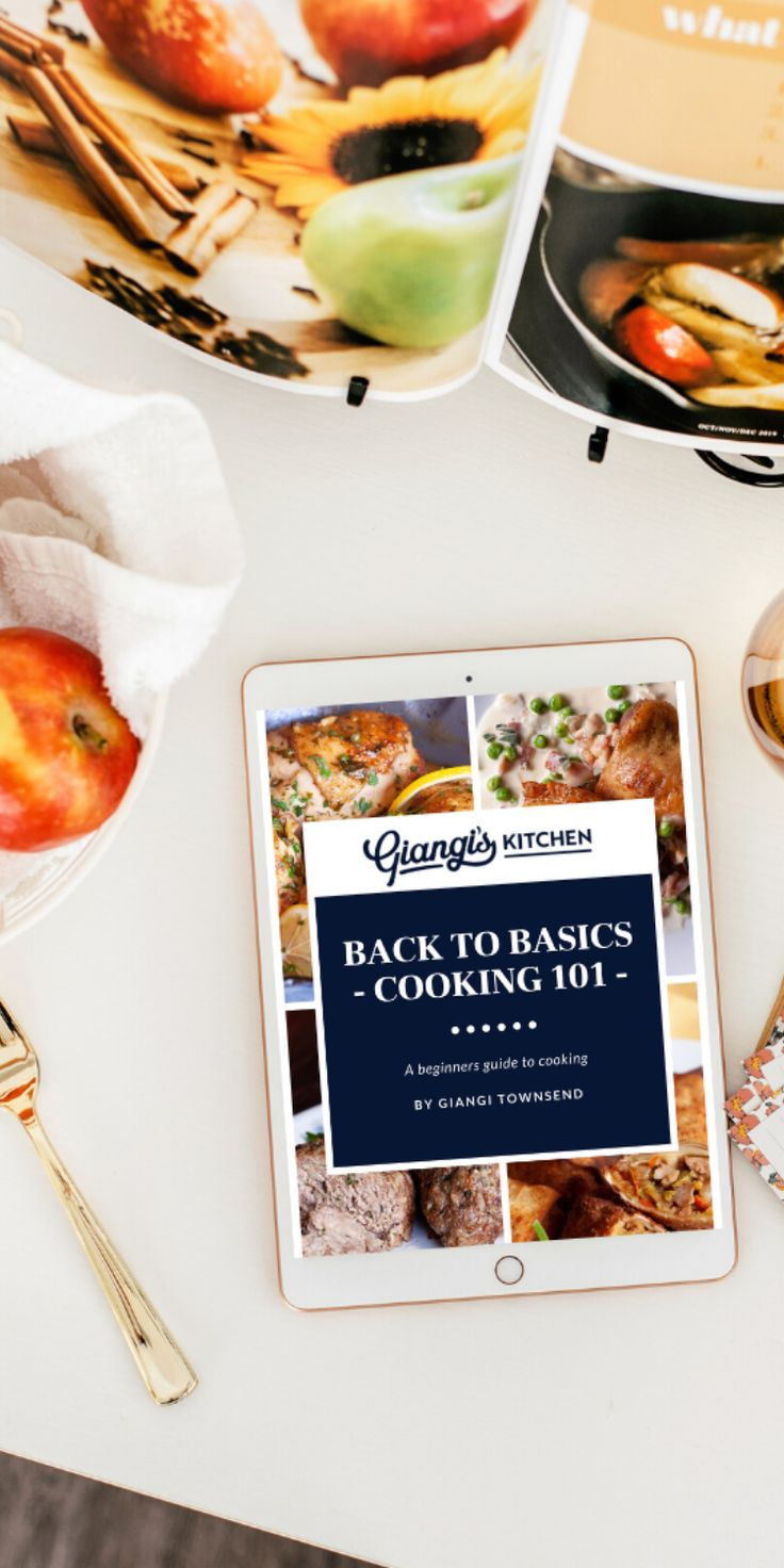 I am thrilled to announce that my new eBook is now available: Back to Basics: Cooking 101 – A Beginner's Guide to Cookin…