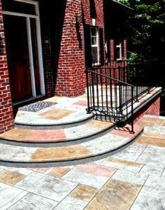 59 Best Concrete Stamped Images On Pinterest Concrete