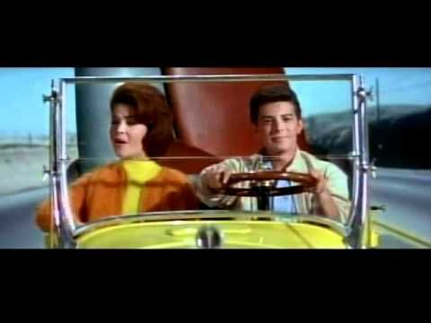 "Frankie Avalon and Annette Funicello   sing ""Beach Party Tonight"" in the film ""Beach Party"" (1963)"
