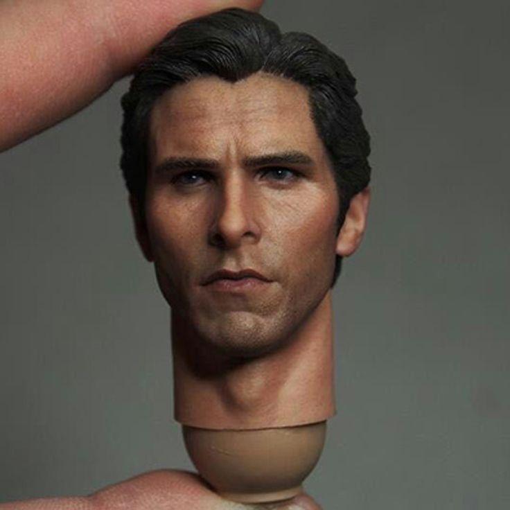 Mnotht Head Sculpt 1:6 Bruce Wayne Batman Head Sculpt Batman Begins Bale Headplay Action & Toy Figures For 12in Figure l30 #Affiliate