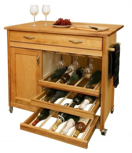 $583.00 (CLICK IMAGE TWICE FOR UPDATED PRICING AND INFO) Butcher Block Kitchen Island - Mid-Sized Wine Island - Catskill Craftsmen 1582.See More Butcher Block Islands at http://www.zbuys.com/level.php?node=3927=butcher-block-islands