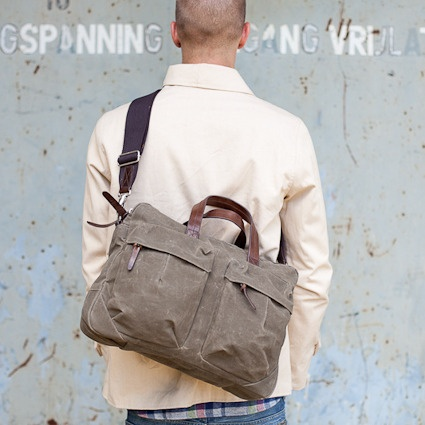Tommy Work Bag from Property Of....  Great briefcases and bags for men.