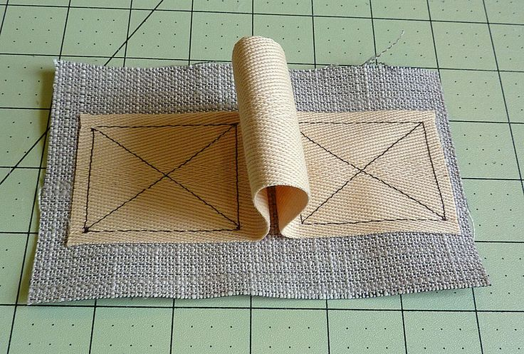 "How To Sew A Perfect ""X"" Box"