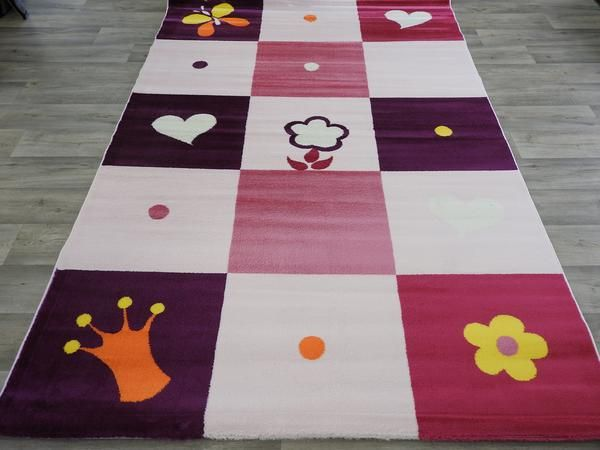 Cute And Quality Kids Turkish Rug Size: 160 x 230cm