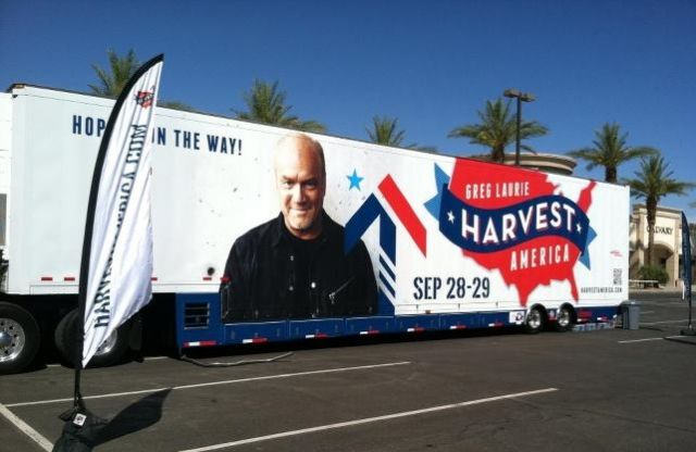 Mobile Theater Touring US to Sign Up Hosts for Harvest America With Greg Laurie 1 Share By Alex Murashko