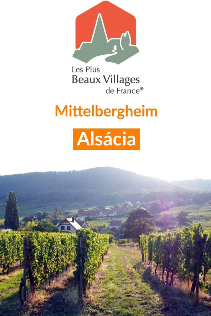 #Mittelbergheim na #Alsácia, uma das mais belas vilas da #França