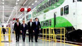 ON:  federal commitment to spend more than $1.8 billion on the GO Transit Regional Express Rail (RER) project in the Greater Golden Horseshoe Area.