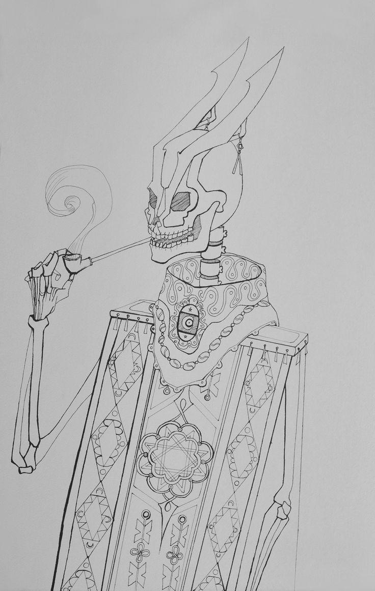 Dei Pronko - Traditional illustrations on Behance