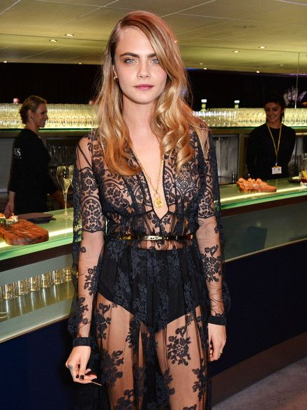 At last night's GQ Awards, there was Cara Delevingne—and then there was everyone else.