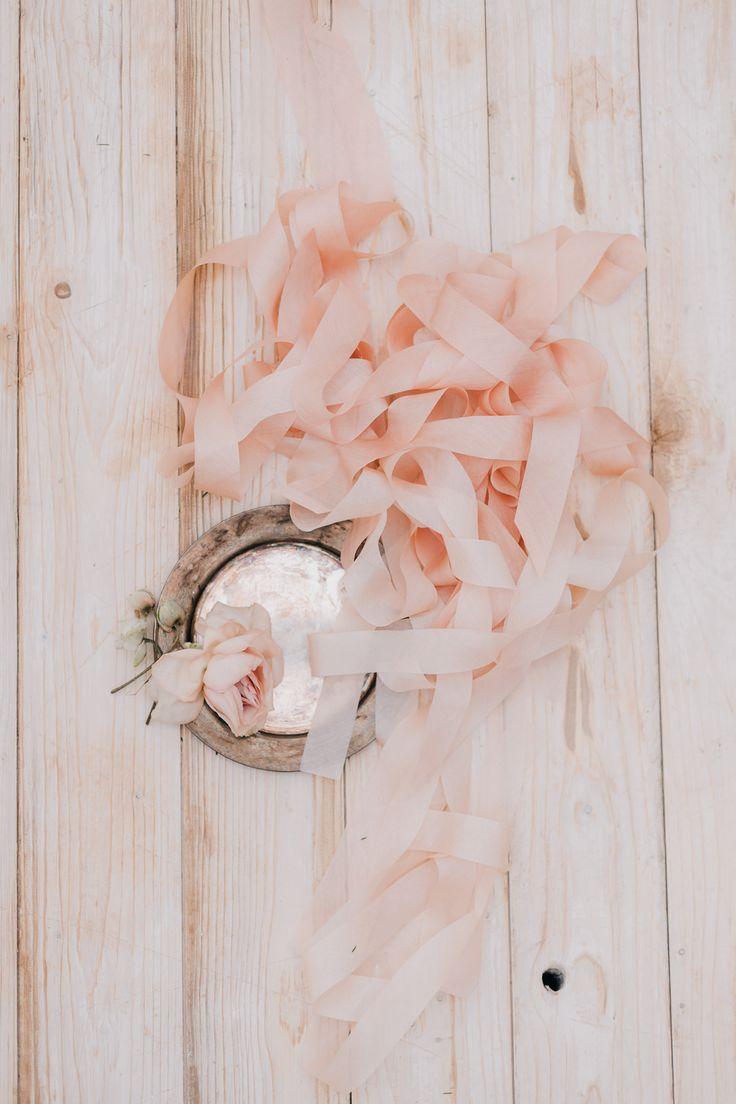 floretally blush silk ribbon