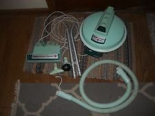 vintage hoover  canister vacuum cleaner celebrity with motor power brush s3193 127.50