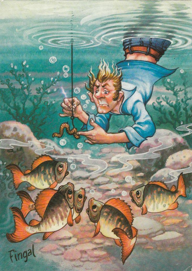 рыболовные веселые картинки началом