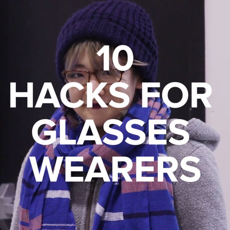 10 Hacks For Glasses Wearers // #glasses #hacks #lifehacks #Nifty