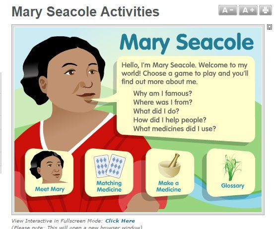 Mary Seacole Interactive