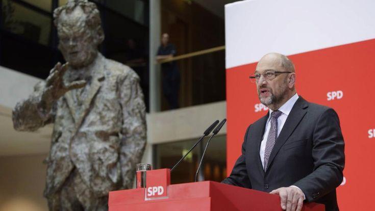 SPD-Chef Martin Schulz am Freitag in der SPD-Zentrale in Berlin