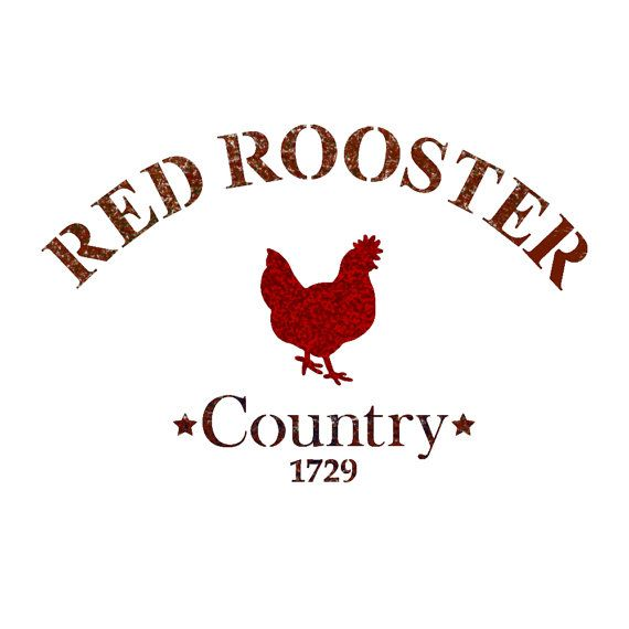 Red Rooster stencil template for Airbrush Stencils DIY home decor crafts