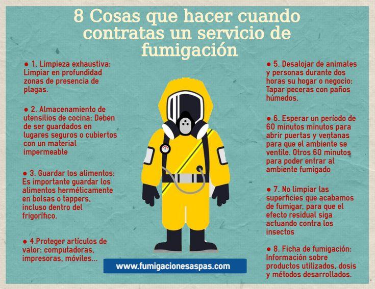 8 Cosas que tienes que saber antes de realizar una #fumigacion y acabar con diferentes #plagas.  Más info: http://www.fumigacionesaspas.com/blog/8-cosas-que-hacer-cuando-contratas-servicio-fumigacion-madrid/