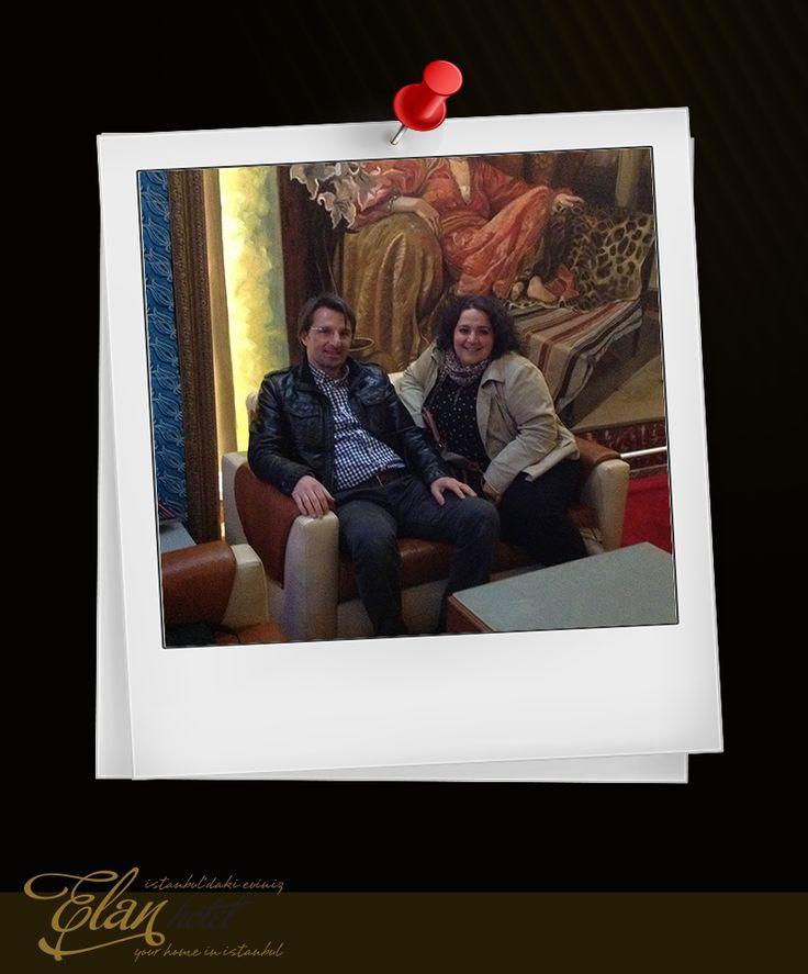 Yıldırım Hanım ve eşi Sami Bey'e sevgiler...