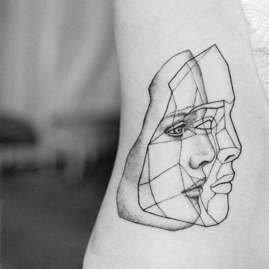 mystic mask tattoo