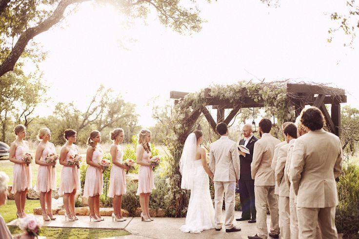 Outdoor Wedding At West Vita Ranch Austin Texas