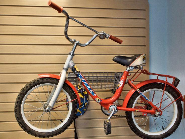 Комбинированное крепление для велосипеда с корзиной